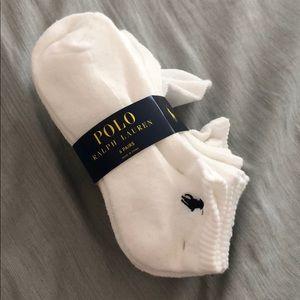 Unisex Ralph Lauren Polo ankle socks